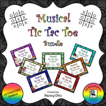 Musical Tic Tac Toe:  Bundle