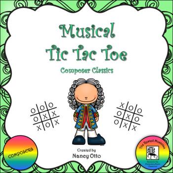 Musical Tic Tac Toe:  Composer Classics
