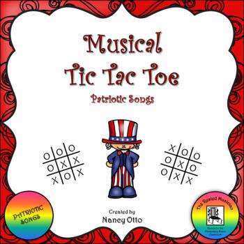 Musical Tic Tac Toe:  Patriotic Songs
