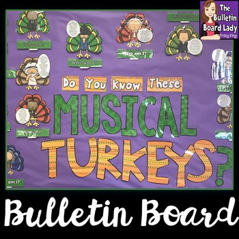 Musical Turkeys in Disguise Bulletin Board