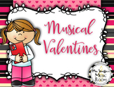 Musical Valentines Freebie