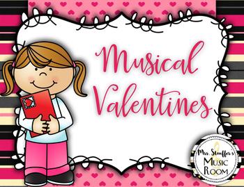 Musical Valentines Freebie