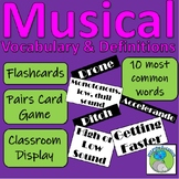 Musical Vocabulary - 10 Common Words and their meanings