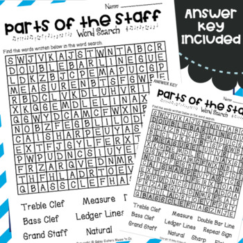 Musical Word Searches - Music Substitute Activity - Early Finishers