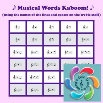 Musical Words Kaboom