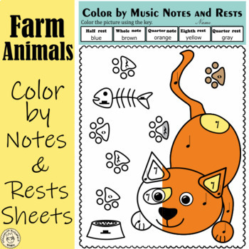 Musical animals: Color by Music