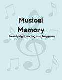 Musical memory matching