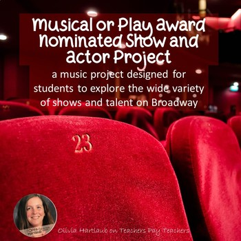 Musical or Play Award Music Project