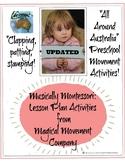 "Musically Montessori: REVISED, ""All Around Australia"" Movement Activities"