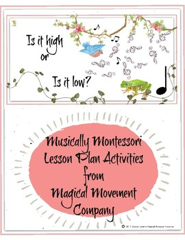 Musically Montessori Bundle: Pitch, Tempo, &Steady Beat