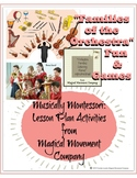 "Musically Montessori: ""Families of the Orchestra Fun & Games"""