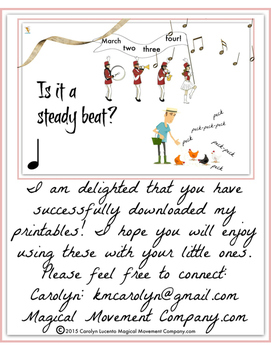 Musically Montessori: Is It A Steady Beat?