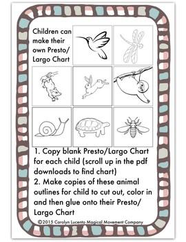 Musically Montessori: Is It Presto Or Is It Largo?