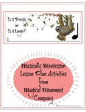 Musically Montessori: Is It Presto Or Is It Largo?