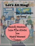 "Musically Montessori: ""Let's All Sing"" The Continents Song"