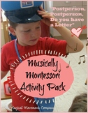 "Musically Montessori: Valentines Day ""Postperson Song and"