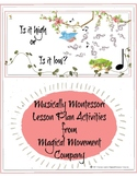 Musically Montessori: Is It High Or Is It Low? First Pitch Lesson