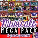 Musicals MEGA BUNDLE of Worksheets