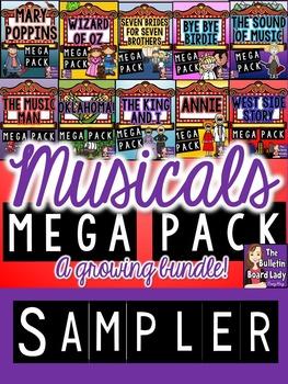 Musicals Mega BUNDLE Sampler