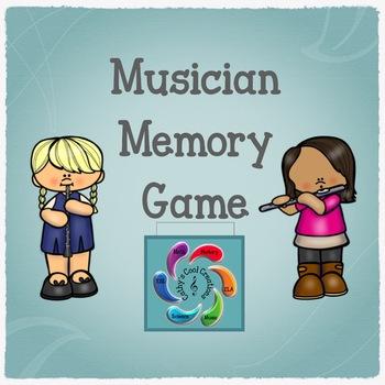 Musician Memory Card Game