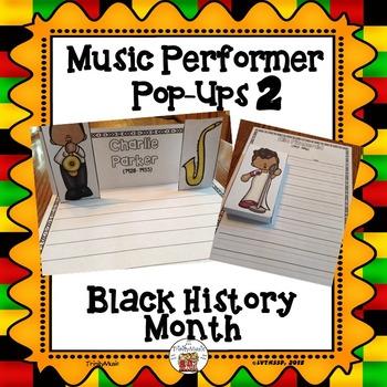 Musician Performer Pop-Ups 2 (Black History Month)