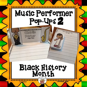 Musician Performer Pop-Ups 2 (Black History Month)