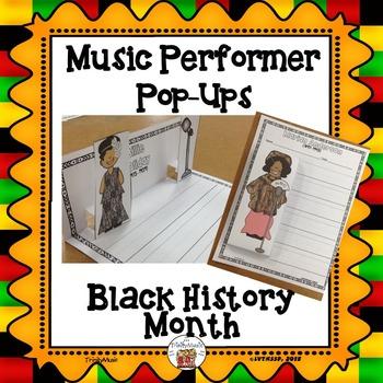 Musician Performer Pop-Ups (Black History Month)