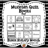 Musician & Performer Quilt Blocks for Black History Month