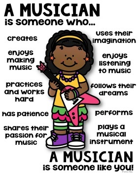 Musician Poster - [someone who]