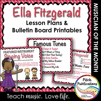 Musician of the Month: ELLA FITZGERALD - Lesson Plans & Bu