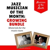 Jazz Musician of the Month, Growing Bundle