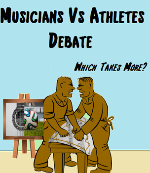 Music in Critical Thinking ~ Debate ~ Musicians Vs. Athletes - Which Takes More?