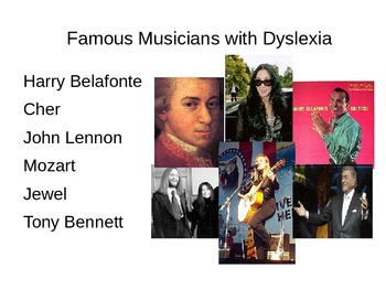 Musicians with Disabilities Powerpoint