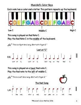 Musickid's Color Method: TEACHER MANUAL