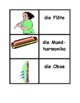 Musikinstrumente in German games:  Concentration, Slap, Ol