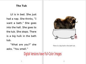 Musk Ox In The Tub Chapter Book