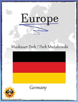 (EUROPE GEOGRAPHY) Muskauer Park Park Muzakowski Germany Research Guide
