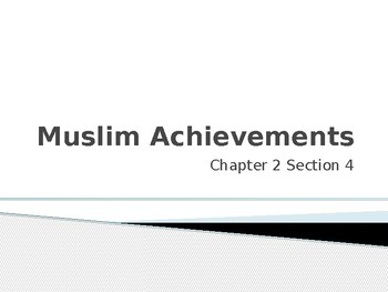 Muslim Achievements