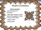 Muslim Civilization Powerpoint