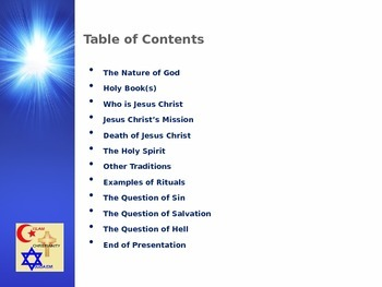 Muslim Civilizations - Christianity, Judaism, and Islam - A Comparison