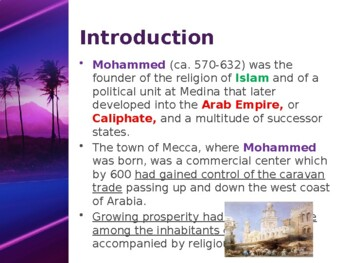 Muslim Civilizations - Key Figures - Mohammed - The Founder of Islam