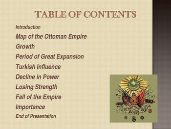 Muslim Civilizations - The Ottoman Empire