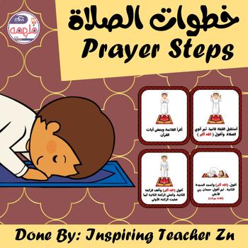 Muslim Prayer steps - خطوات الصلاة