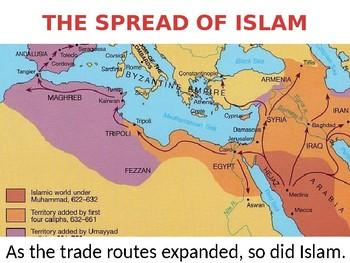 Muslim Trade Routes Lesson