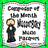 Mussorgsky Passport (Composer of the Month)