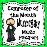 Mussorgsky Passport (Composer of the Month)
