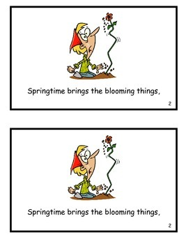 Must Be Springtime! Sing Along Songbook (Guided Reader)