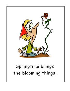 Must Be Springtime Sing Along Songbook for Shared Reading
