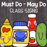 Must Do - May Do | Back to School