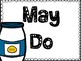 Must Do-May Do-Catch Up POSTERS Freebie